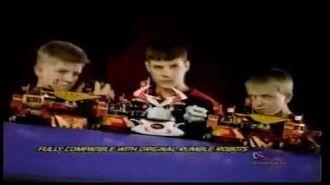 Rumble Robots Invasion Commercial