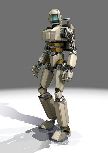 Binary robot