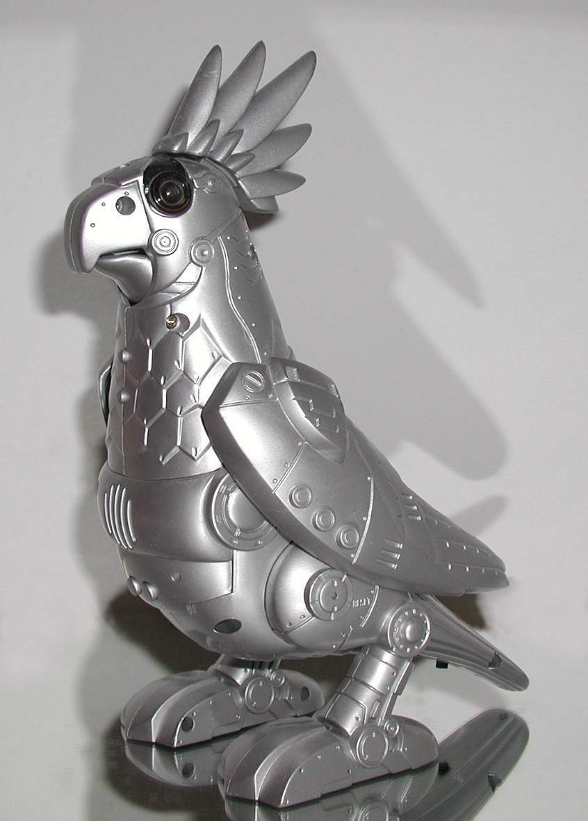 Polly the Tekno Parrot | Robot Supremacy Wiki | FANDOM powered by Wikia