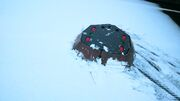 Point Blank snowplough