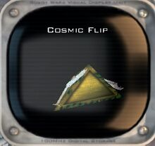 Cosmic Flip