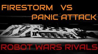 Robot Wars Rivals - Firestorm vs Panic Attack - Series 3-7