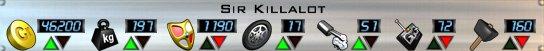 Sir Killalot Stats AOD