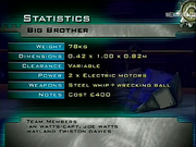 Big brother stats