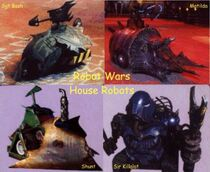 Early House Robots