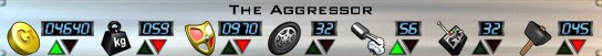 The Aggressor Stats