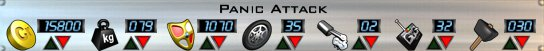 Panic Attack AOD Stats