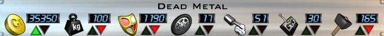 Dead Metal Stats AOD