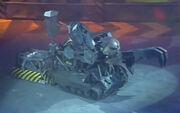 Behemoth vs Mr Psycho House Robot Rebellion
