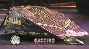 Cassius - Series 2 All Fights - Robot Wars - 1998