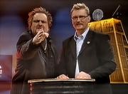 Janne Blomqvist and micke