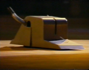 Unknown toaster with arms