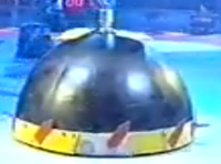 Beaverbot in arena