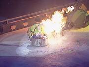 Sir Chromalot vs Shell Shock