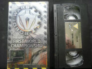 Robot Wars First World Championship VHS v2