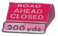 Roadblock frontview