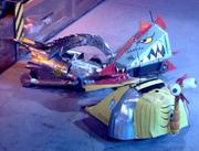 Razer vs robochicken vs velocirrippa