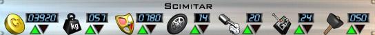 Scimitar Stats