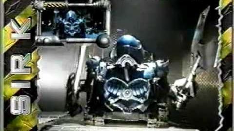 Nickelodeon SLAM! Robot Wars promo 2 (2002)