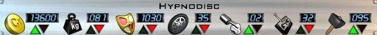 HypnoDisc AOD Stats