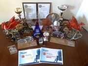 Team Titanium awards