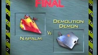 Crowned Classics Napalm vs Demolition Demon