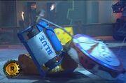 Firestorm 5 flips Blue and Bamm Bamm