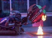Killalot holds robo savage
