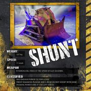 Shunt stat card