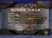 Blackhole germ stats