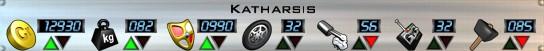 Katharsis Stats