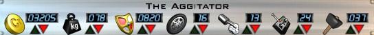 The Aggitator Stats