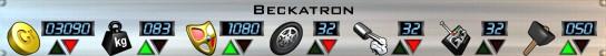 Beckatron Stats