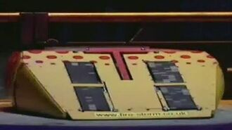 Firestorm - Series 3 All Fights - Robot Wars - 1999