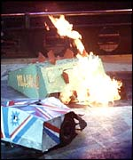 Steg flame pit