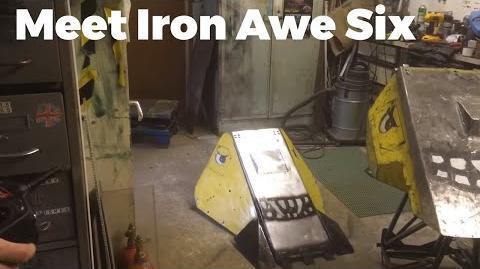 Meet the Robot Wars contender made in Norfolk - Iron Awe Six