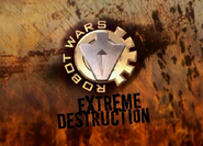 Extreme destruction animated logo