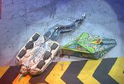 Alien Destructor vs Scraptosaur
