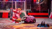 Matilda vs Bucky the Robot