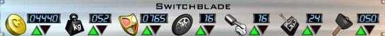 Switchblade Stats