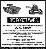 Robot Wars '94 Flyer