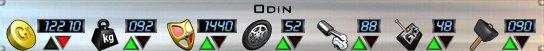Odin stats