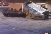 Unibite slams into tricerabot