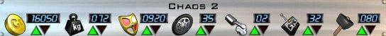 Chaos 2 AOD Stats