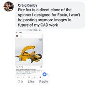 Firefox plagiarism