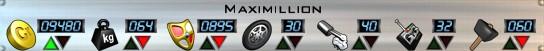 Maximillion Stats