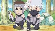 Kakashi et Yamato en ANBU