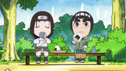 Neji et Lee en train de se reposer