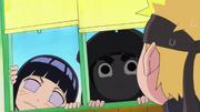 Hinata et Lee chez Naruto