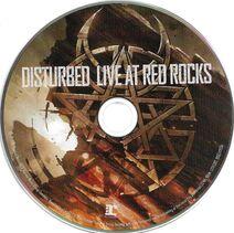 Disturbed, LiveRedRock.cd